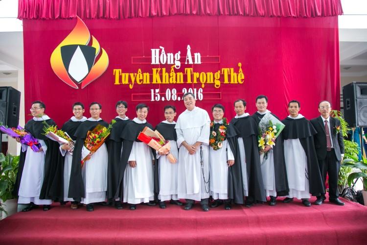 Tỉnh dòng Đa Minh Việt Nam : Thánh lễ tuyên khấn trọng thể